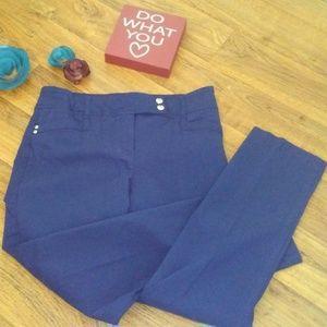 Style & Co. Blue Stretch slacks